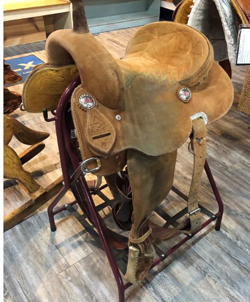 Fallon Taylor Barrel Saddle 14 Great condition 1