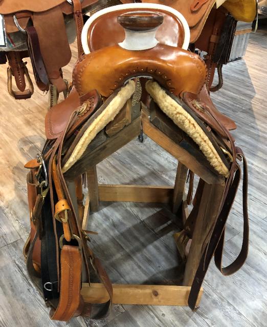 Lanny Batterman Custom Saddle 17 - 2