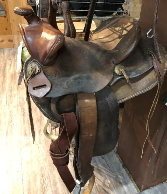 Miller Saddle Denver Col 13.5 BearTrap - 1