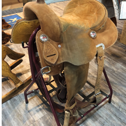 Fallon Taylor Barrel Saddle 14 Great condition 1