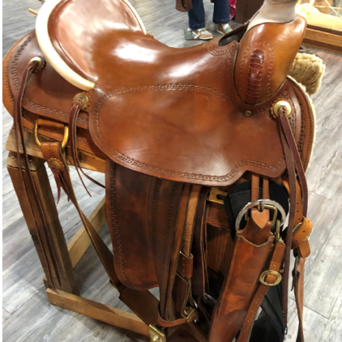 Lanny Batterman Custom Saddle 17 - 1