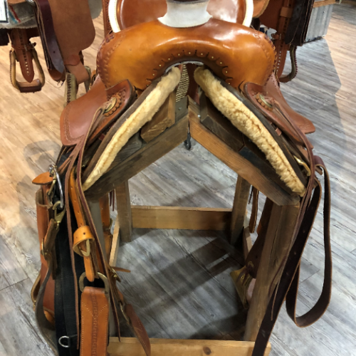 Lanny Batterman Custom Saddle 17 - 2